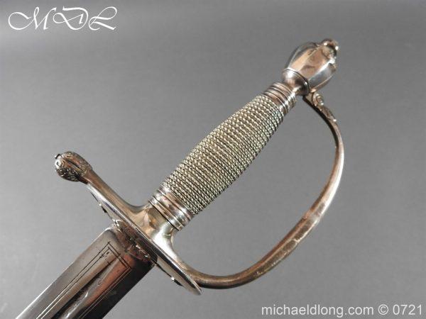 michaeldlong.com 20588 600x450 Silver Mounted 1796 Infantry Officer's Sword