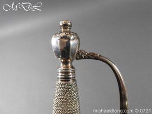 michaeldlong.com 20591 300x225 Silver Mounted 1796 Infantry Officer's Sword