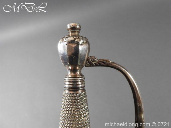 michaeldlong.com 20591 600x450 Silver Mounted 1796 Infantry Officer's Sword