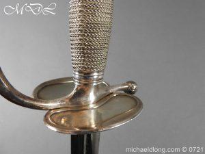 michaeldlong.com 20593 300x225 Silver Mounted 1796 Infantry Officer's Sword