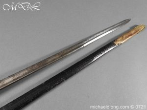 michaeldlong.com 20606 300x225 Officer's 1796 Infantry Sword Blue and Gilt