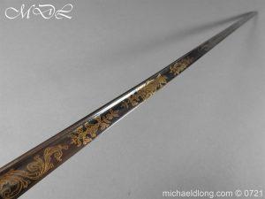 michaeldlong.com 20610 300x225 Officer's 1796 Infantry Sword Blue and Gilt