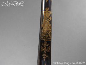 michaeldlong.com 20613 300x225 Officer's 1796 Infantry Sword Blue and Gilt