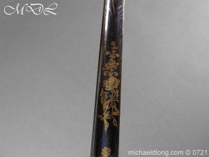 michaeldlong.com 20614 300x225 Officer's 1796 Infantry Sword Blue and Gilt