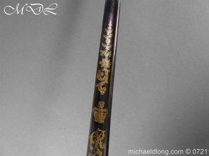michaeldlong.com 20619 300x225 Officer's 1796 Infantry Sword Blue and Gilt