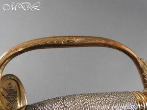 michaeldlong.com 20624 300x225 Officer's 1796 Infantry Sword Blue and Gilt