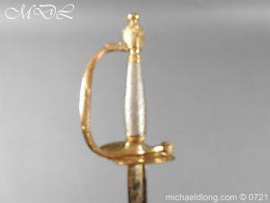 michaeldlong.com 20631 300x225 Officer's 1796 Infantry Sword Blue and Gilt