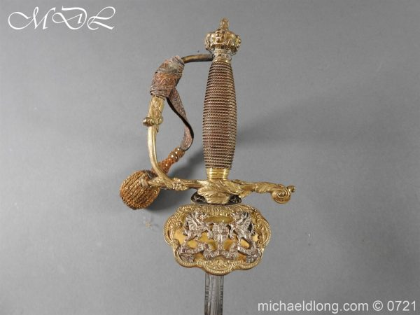 michaeldlong.com 20672 600x450 Marshal of London Victorian Sword