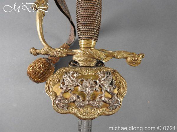 michaeldlong.com 20673 600x450 Marshal of London Victorian Sword