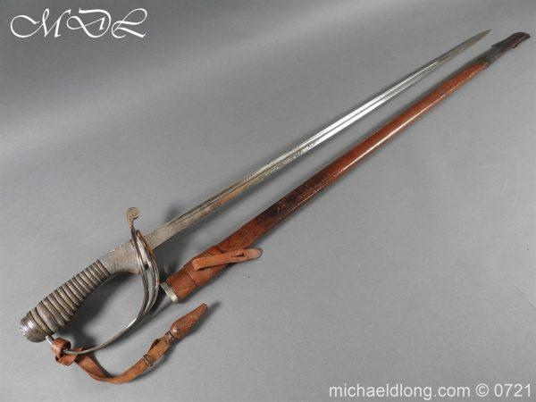 michaeldlong.com 20681 600x450 10th Hussars 1912 Officer's Sword by Wilkinson