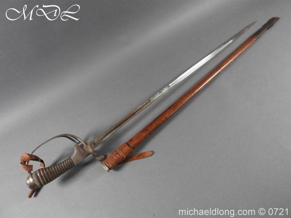 michaeldlong.com 20685 600x450 10th Hussars 1912 Officer's Sword by Wilkinson
