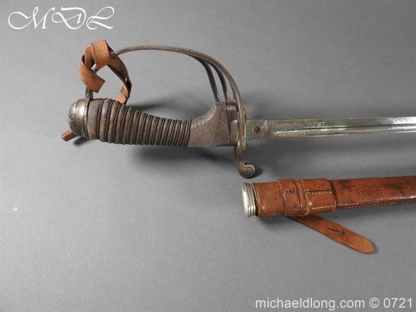 michaeldlong.com 20686 600x450 10th Hussars 1912 Officer's Sword by Wilkinson
