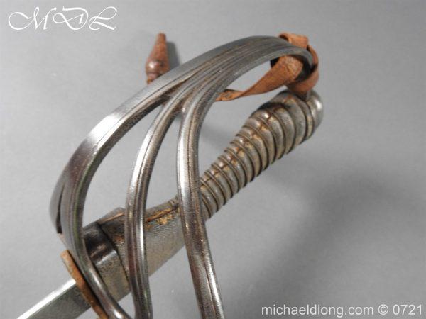 michaeldlong.com 20707 600x450 10th Hussars 1912 Officer's Sword by Wilkinson