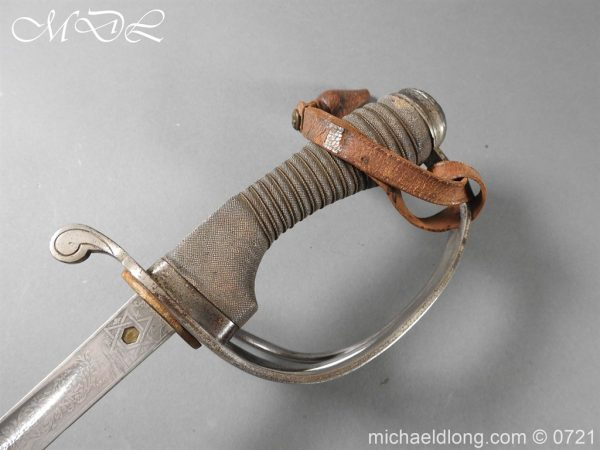 michaeldlong.com 20708 600x450 10th Hussars 1912 Officer's Sword by Wilkinson