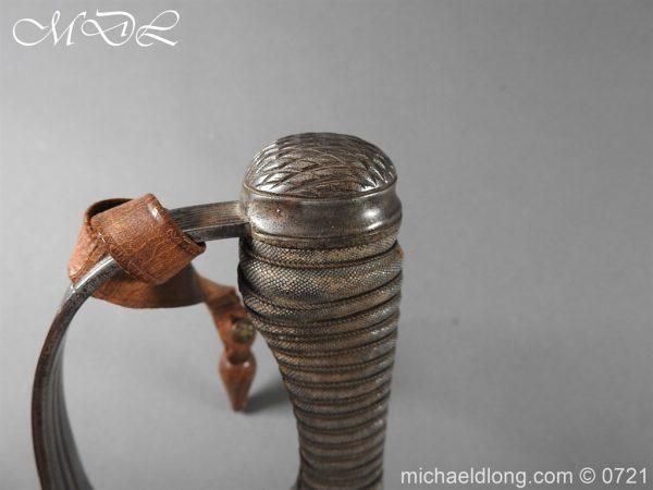 michaeldlong.com 20709 600x450 10th Hussars 1912 Officer's Sword by Wilkinson