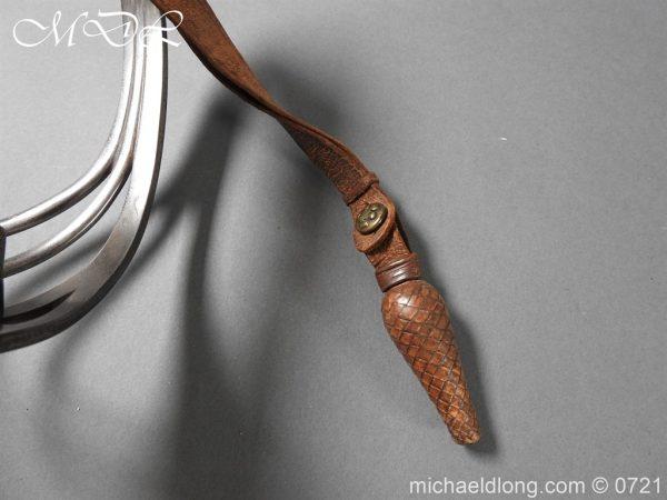 michaeldlong.com 20710 600x450 10th Hussars 1912 Officer's Sword by Wilkinson