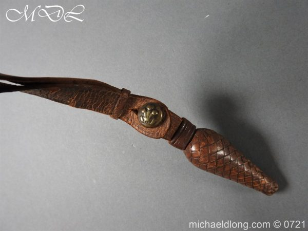 michaeldlong.com 20711 600x450 10th Hussars 1912 Officer's Sword by Wilkinson