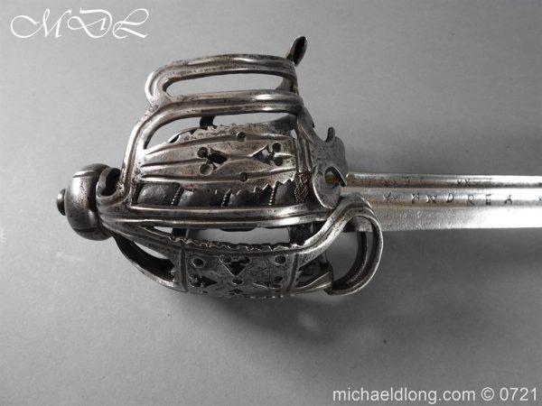 michaeldlong.com 20914 600x450 Scottish Horseman's Sword c1730