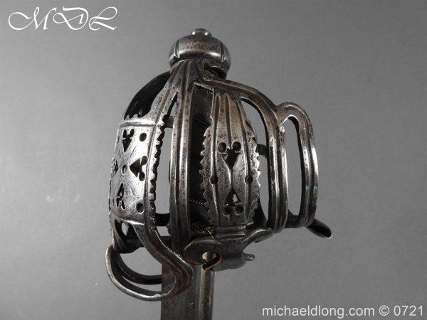 michaeldlong.com 20927 600x450 Scottish Horseman's Sword c1730