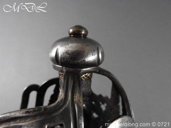 michaeldlong.com 20931 600x450 Scottish Horseman's Sword c1730