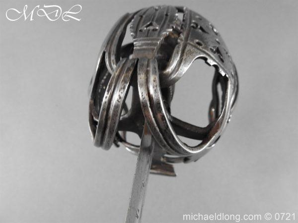 michaeldlong.com 20936 600x450 Scottish Horseman's Sword c1730
