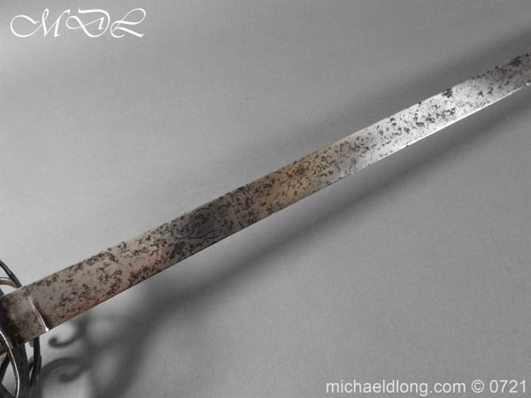 michaeldlong.com 20940 600x450 1788 British Heavy Cavalry Officer's Sword by Woolley