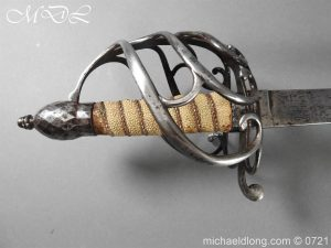 michaeldlong.com 20943 300x225 1788 British Heavy Cavalry Officer's Sword by Woolley