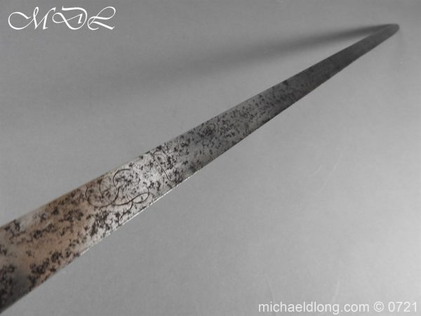 michaeldlong.com 20957 600x450 1788 British Heavy Cavalry Officer's Sword by Woolley