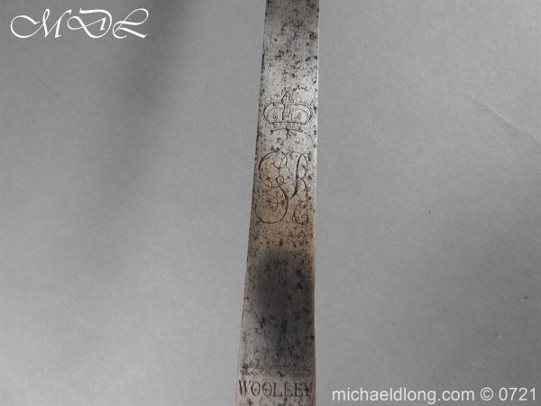 michaeldlong.com 20960 600x450 1788 British Heavy Cavalry Officer's Sword by Woolley