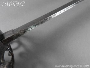 michaeldlong.com 20962 300x225 1788 British Heavy Cavalry Officer's Sword by Woolley