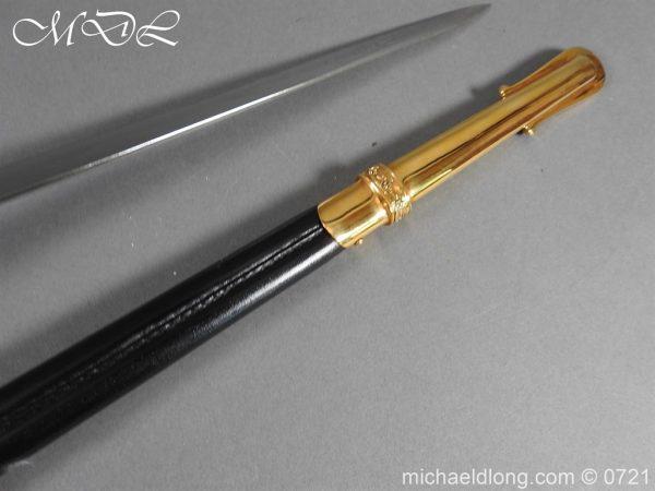 michaeldlong.com 20970 600x450 British RAF Officer's Sword by Wilkinson