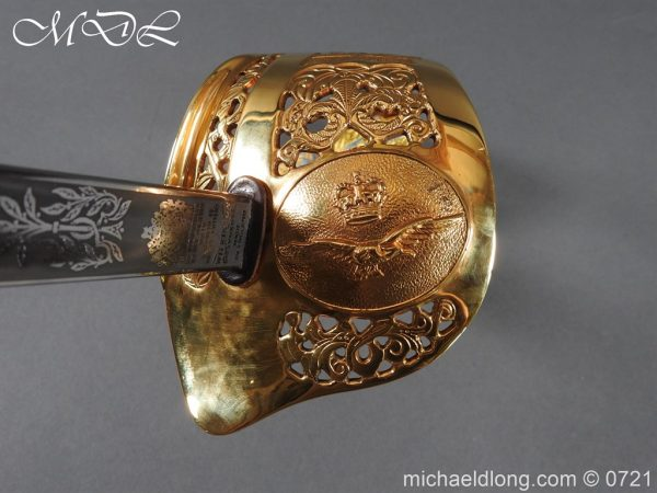 michaeldlong.com 20983 600x450 British RAF Officer's Sword by Wilkinson