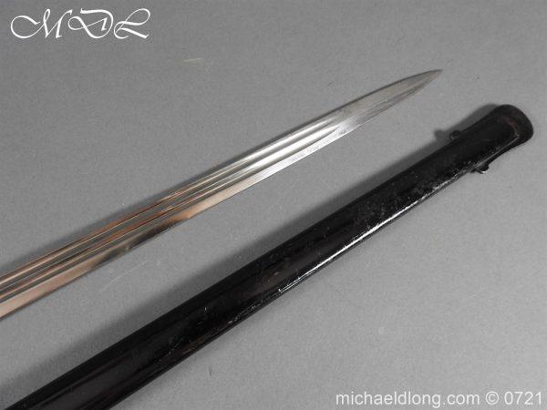 michaeldlong.com 21032 600x450 Prussian 1889 Infantry Officer's Sword