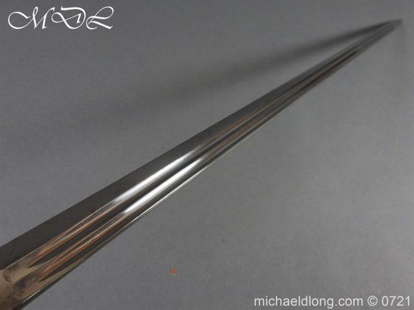michaeldlong.com 21042 600x450 Prussian 1889 Infantry Officer's Sword