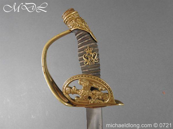 michaeldlong.com 21045 600x450 Prussian 1889 Infantry Officer's Sword