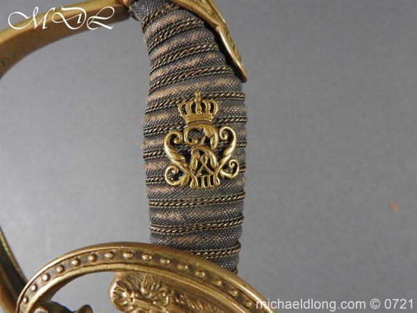 michaeldlong.com 21047 600x450 Prussian 1889 Infantry Officer's Sword