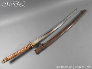Japanese Officer's WW2 Sword