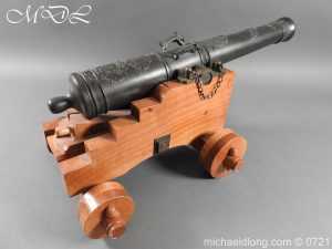 French 18th Century Cannon Systeme Valliere