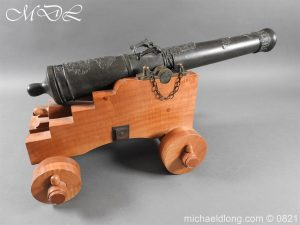 michaeldlong.com 21131 300x225 French 18th Century Cannon Systeme Valliere