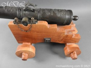 michaeldlong.com 21135 300x225 French 18th Century Cannon Systeme Valliere