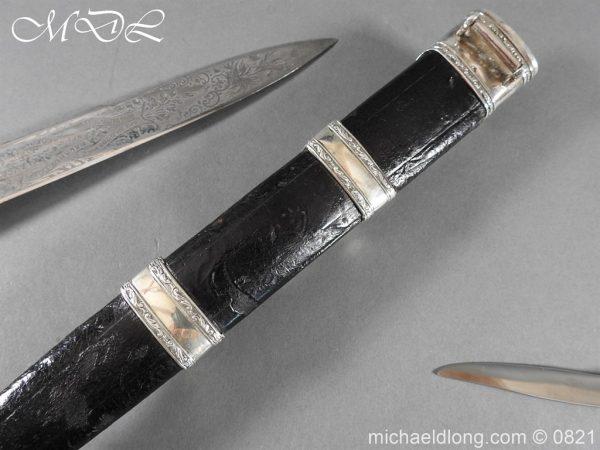 michaeldlong.com 21154 600x450 Victorian 93rd Sutherland Highlanders Regimental Dirk