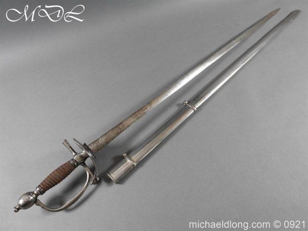 michaeldlong.com 21432 600x450 Heavy Cavalry Officer's 1796 Dress Pattern Sword