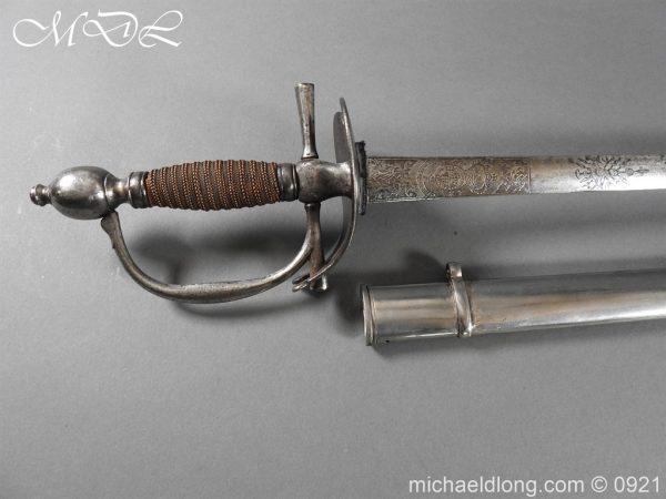 michaeldlong.com 21433 600x450 Heavy Cavalry Officer's 1796 Dress Pattern Sword