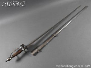 michaeldlong.com 21436 300x225 Heavy Cavalry Officer's 1796 Dress Pattern Sword