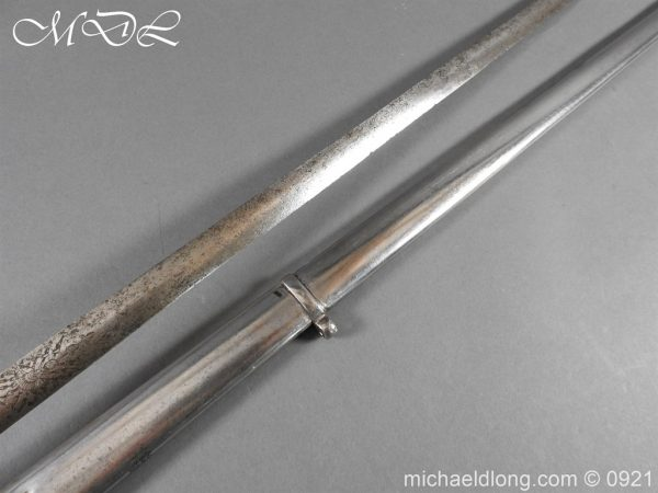 michaeldlong.com 21438 600x450 Heavy Cavalry Officer's 1796 Dress Pattern Sword