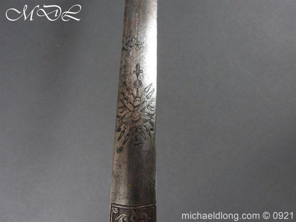 michaeldlong.com 21444 600x450 Heavy Cavalry Officer's 1796 Dress Pattern Sword