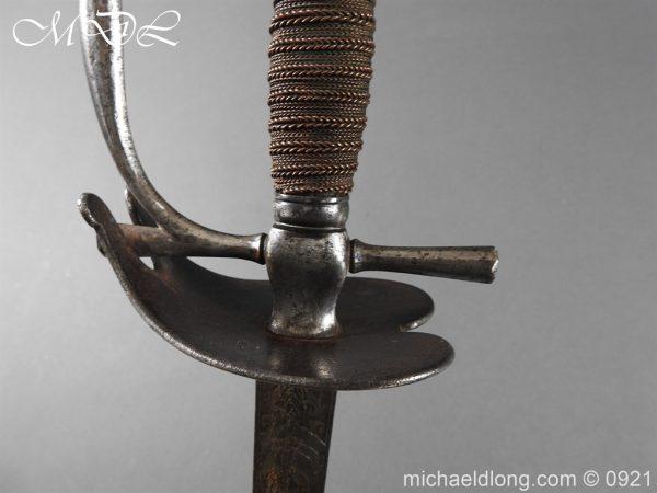michaeldlong.com 21451 600x450 Heavy Cavalry Officer's 1796 Dress Pattern Sword