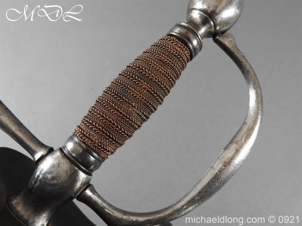 michaeldlong.com 21454 600x450 Heavy Cavalry Officer's 1796 Dress Pattern Sword
