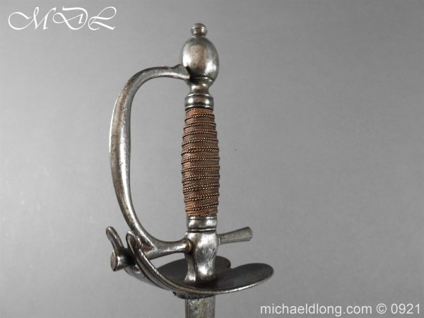 michaeldlong.com 21458 600x450 Heavy Cavalry Officer's 1796 Dress Pattern Sword