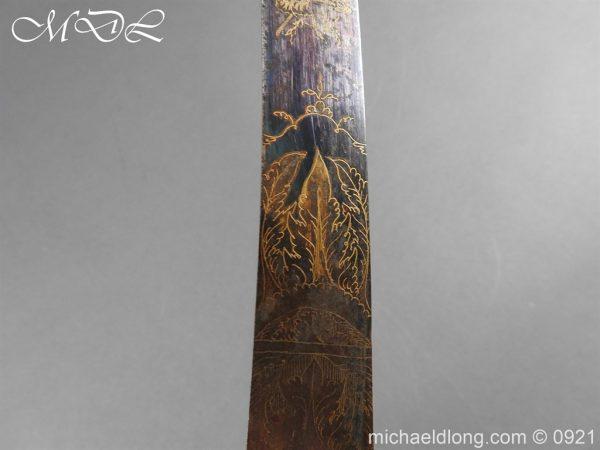 michaeldlong.com 21494 600x450 1796 British Officer's Sword